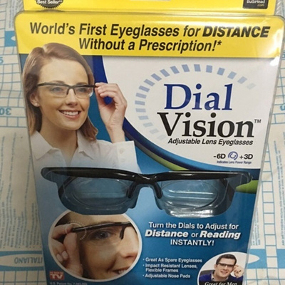 497c4ab549 Qoo10 - Adjustable Dial Vision Eye Glasses Reader Glasses Includes Case AS  SEE...   Watch   Jewelry