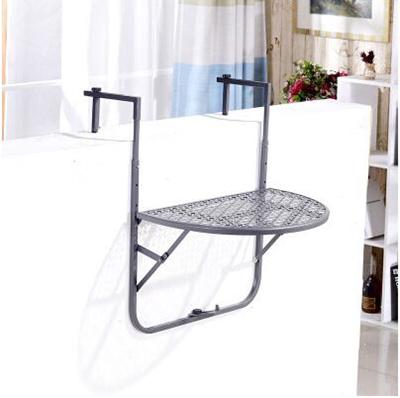 Qoo10 - Adjustable Folding Balcony Deck Table Hanging ...