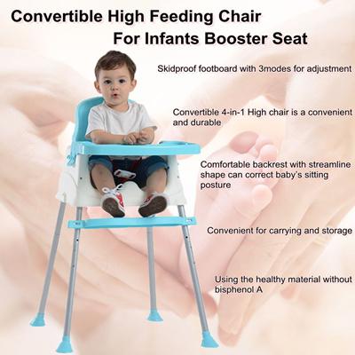 Qoo10 Adjustable Height Baby Feeding Chair High Foot Safe