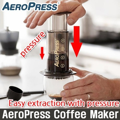 Qoo10 - [Aerobie] AeroPress Coffee Maker / Espresso latte Maker / Vacuum compr... : Sports Equipment