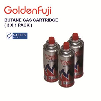 Qoo10 Golden Fuji Butane Gas Cartridge 3 X 1 Pack