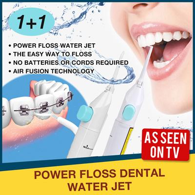 Dental Floss & Flossers - Power Floss Dental Water Jet was