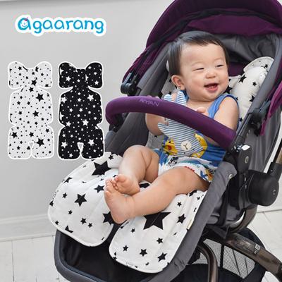 Agaarang Infant Double Sided Slim Seat Liner For Stroller Car