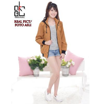 Qoo10 - AGNEZ Jaket Topi   Hoodie Jacket Wanita Fashion Berkualitas ... c1dde3a6cf