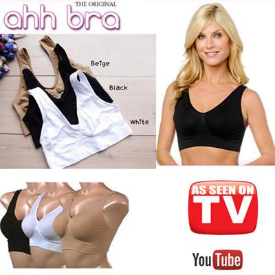 54d4ec9a7d Qoo10 - Ahh bra sports bra sprots bra (As Seen on TV) Ahh Bra   Genie Bra  with...   Underwear   Sock.