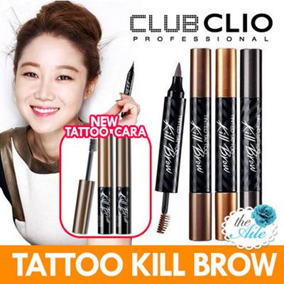 qoo10 aile clio 3 in 1 tinted tattoo kill brow last a long time colori cosmetics