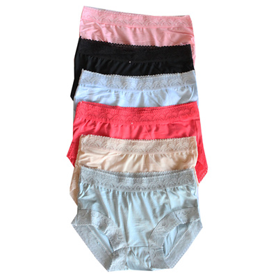 AILY Celana Dalam Wanita Renda Katun Lembut High Quality Grosir 6 pcs CD311 292e58e466