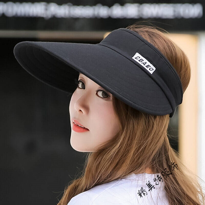 4a46792f Qoo10 - Air cap female anti-UV summer sun visor hat ATV Riding Hood black  Adju... : Men's Bags & Sho.