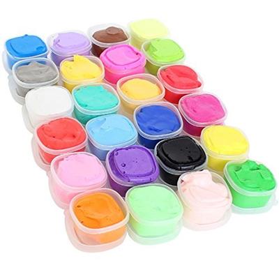 Qoo10 - Air Dry Clay, 24 Colors Super Light Modeling Magic Clay ...