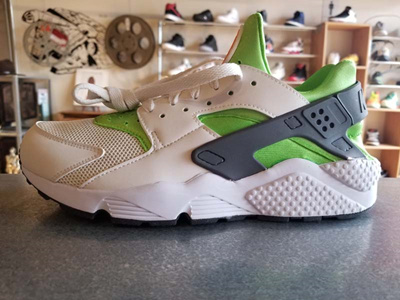 2c8ceab59e5 Qoo10 - Air Huarache Run Action Green Vivid 318429-304   Sportswear