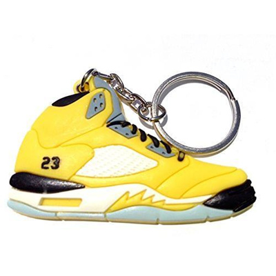 more photos bb3f9 20210 Qoo10 - Air Jordan 5 V T23 Tokyo Japan Yellow Chicago Bulls Sneakers Shoes  Key...   Automotive   Ind..