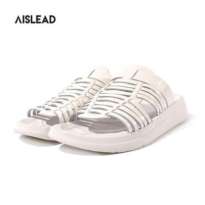 cbb639e584a Qoo10 -  AISLEAD  FLINDER SLIPPER SLIDE (AW1802 WHITE) SANDLE   Shoes