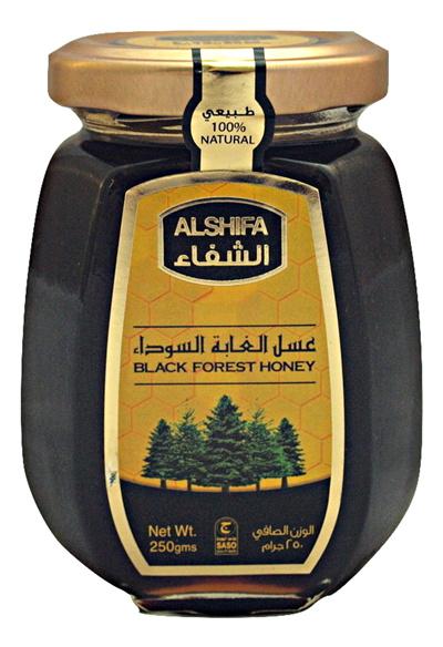 AL SHIFAHoney AL SHIFA Black Forest Honey 250G 100% Pure and Natural from  Saudi Arabia / SG Retail Distributor