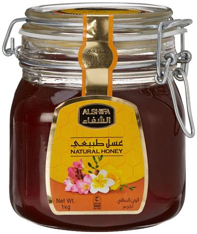AL SHIFAHoney AL SHIFA Natural Honey 1 KG 100% Pure and Natural from Saudi  Arabia / SG Retail Distributor
