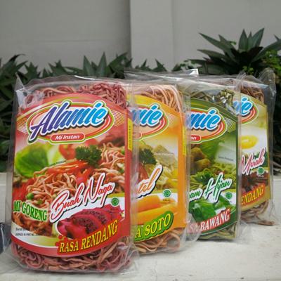 Alamie Mi Instant Organik - Paket 6 pcs Aneka Rasa