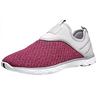 8ba09f1cd205 Qoo10 - Aleader Women s Slip-on Athletic Water Shoes-   Shoes