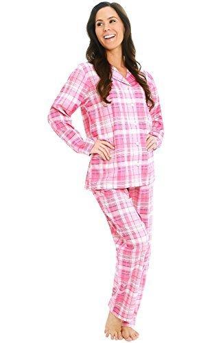 Qoo10 - Alexander Del Rossa Del Rossa Womens Cotton Pajama Set 5f752a5a1