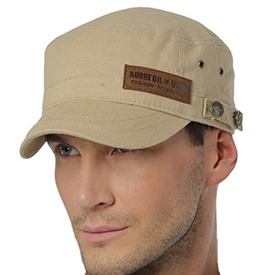 0cc734c2dca Qoo10 - ALL IN ONE CART Mens Cotton Cadet Army Cap Flat Top Military  Adjustabl...   Men s Bags   Sho.