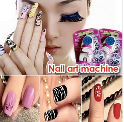 Qoo10 All In One Nail Art System Machinegdd Hollywood Nails