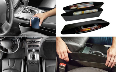 Best Selling Car Seat Pocket Catcher Storage Compartments Beside Seats Provides Spaces
