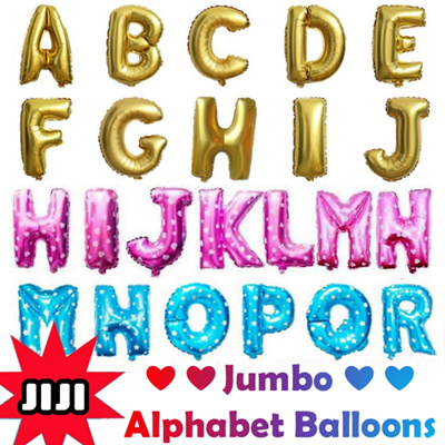 Qoo10 Alphabet Foil Balloons ProposalWeddingParty