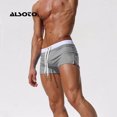 a92315b06ae Qoo10 - ALSOTO Swimwear Men Swimsuit Brand Shorts Mens Briefs Summer Swim  Suit... : Underwear & Sock.