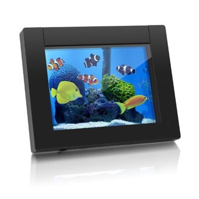 Qoo10 Aluratek Adeq108f Equarium 8 Inch Digital Aquarium Picture