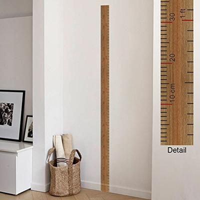 Qoo10 Amaonm Removable Vinyl Growth Chart Kit Kids Diy Height