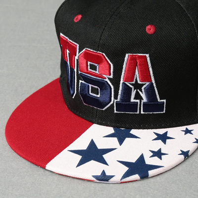Qoo10 - American Flag Snapback Hat USA Letter Embroidery Sports Hip Hop  Women ...   Women s Clothing 143c57ed5a