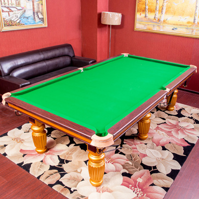Qoo American Standard Black Billiard Table Billiard Ball - American pool table company