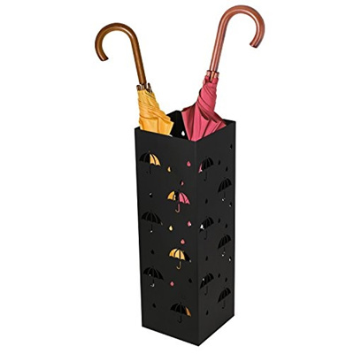 Qoo10 Amzdeal Umbrella Stand Rack Free Standing Umbrella Holder