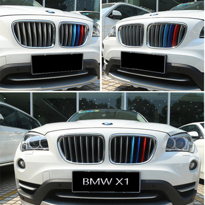 BMW X1 X3 X4 X5 F15 F20 F48 M Colored Grille Stripes ABS Snap