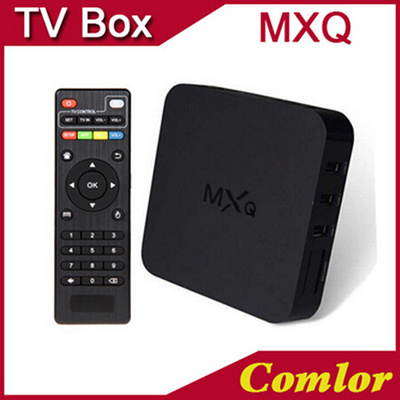 Android TV BOX MXQ MX Amlogic S805 Quad Core Android 4 4 Kitkat 4K 1GB/8GB  KODI XBMC WIFI Airplay Miracast 3D ADD ONS IPTV CS918 CS968 xmac Xiaomi
