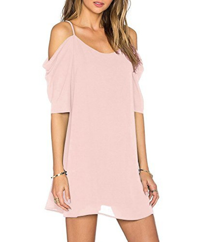 985200c72bb50 Qoo10 - Angelady Women Sexy Cut Out Cold Shoulder Adjustable Spaghetti  Straps ...   Women s Clothing
