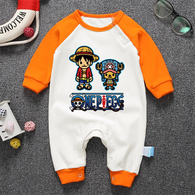 Qoo10 Anime One Piece Cartoon Babyworks Luffy Chooper Baby Romper