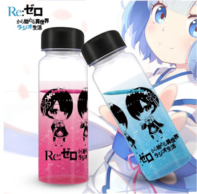 qoo10 anime water bottle kitchen dining