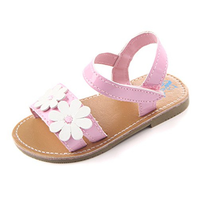 0290e1670f8e Qoo10 -  ANNNOWL  Baby Girls Sandals Flowers Summer Shoes   Baby   Maternity