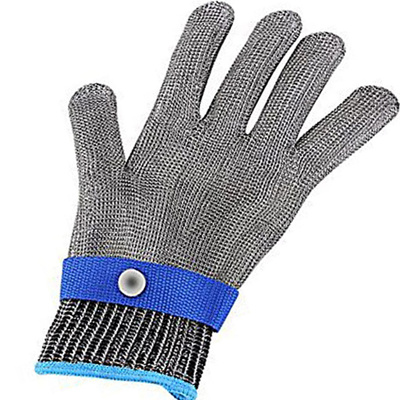 Anti-cut Gloves Safety Cut Proof Stab Resistant Stainless Steel Wire Metal Mesh