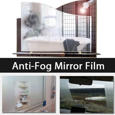 Qoo10 Anti Fog Mirror Film Amazing Anti Fog Effect Ar Coating