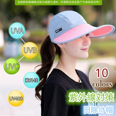 90e43b223d3 Qoo10 - Anti-UV Hat   Fashion Accessories