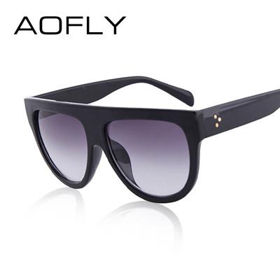 Qoo10 - AOFLY Fashion Sunglasses Women Flat Top Style Brand Design Vintage  Sun...   Fashion Accessor. 3e667ae35e