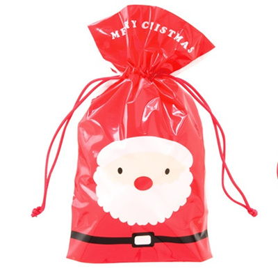 900d26f849dc Apple Christmas Santa Claus gift bag packaging DrawString pouches jewelry  bag bags candy bags cookie