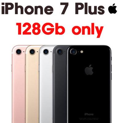 [Apple iPhone]|Apple iPhone 7 Plus | 128gb ONLY!! | Gold/Silver/Rose  gold/Matt Black/Jet Black/RED /BOX set
