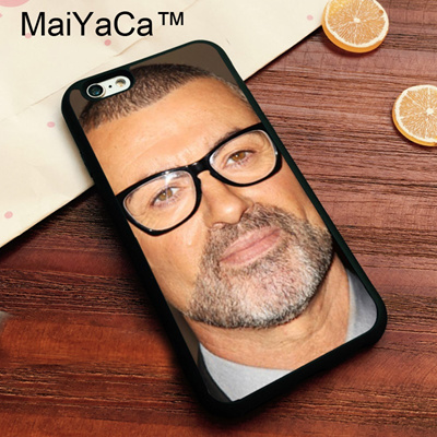 Apple iPhone 8 Case GEORGE MICHAEL SINGER Soft TPU Cover iPhone8 Luxury  Painting Back Shell