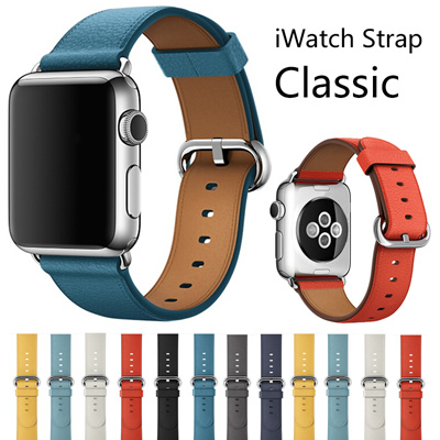 Qoo10 - Apple iWatch Strap classic buckle leather band for iWatch series 2  38m...   Mobile Accessori. 1d3c6e336a38