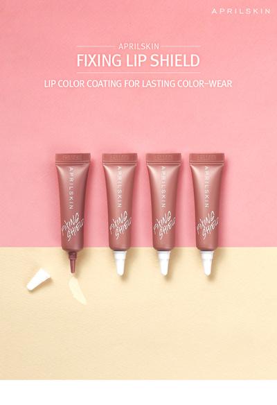 ★★April Skin★★ Fixing Lip Shield 5g / Made In Korea