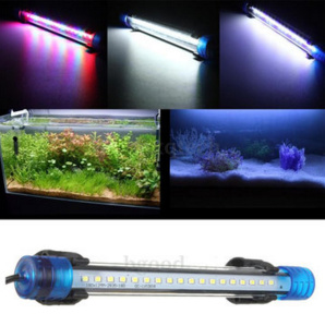 Qoo10 aquarium waterproof led light bar fish tank submersible aquarium waterproof led light bar fish tank submersible downlight tropical aquarium products 3w 30cm aloadofball