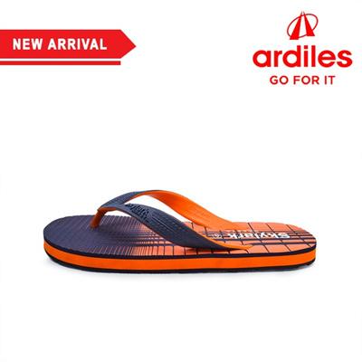 7ecd87720fc5 Qoo10 -  Ardiles  Okinawa Navy Orange Flip Flops   Sportswear