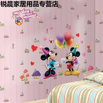 qoo10 - are mitch mini disney children s room wall stickers mickey