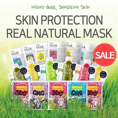 [ARIUL]★7DAYS MASK 10sheets★Real Natural Constituent★KOREA BEST★Sensitive Skin★Heeling MASK